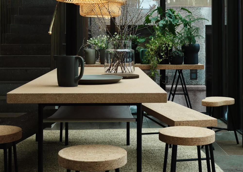 cork furniture, Ikea
