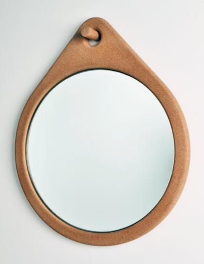 cork mirror
