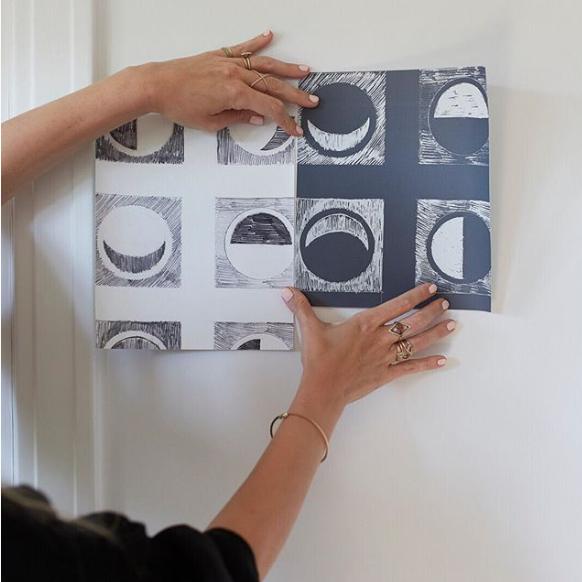 modern wallpaper, nina freudenberger
