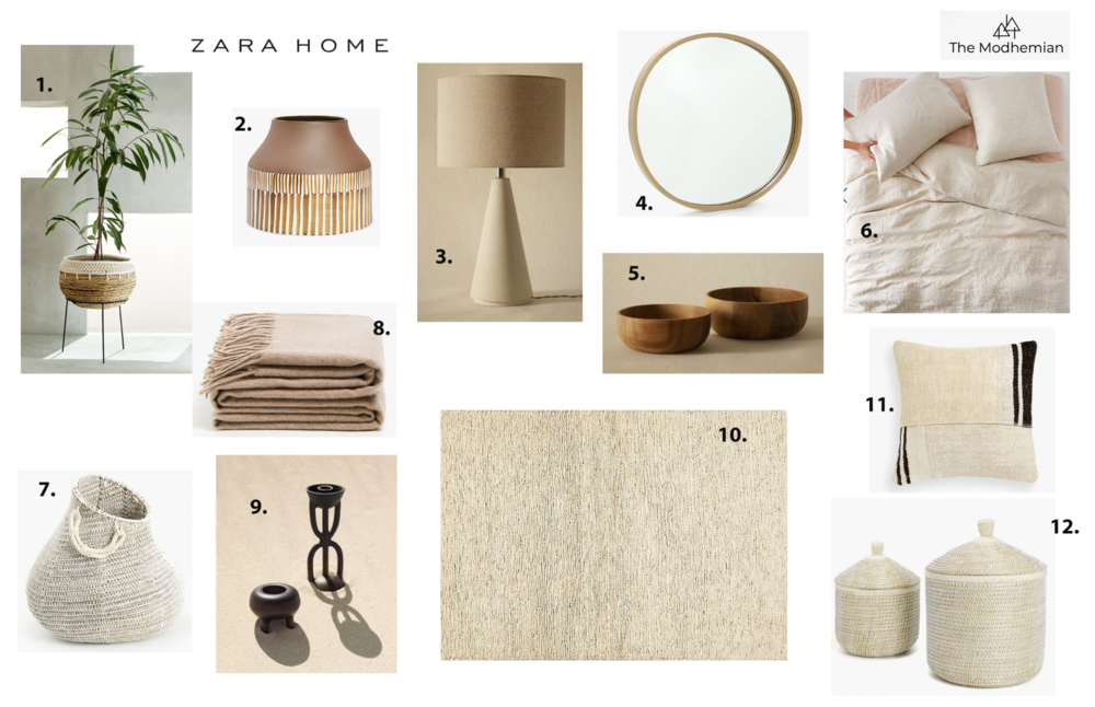 the modhemian's zara home round up
