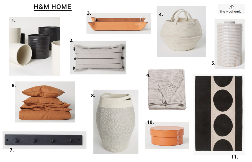 the modhemians h&m home round up