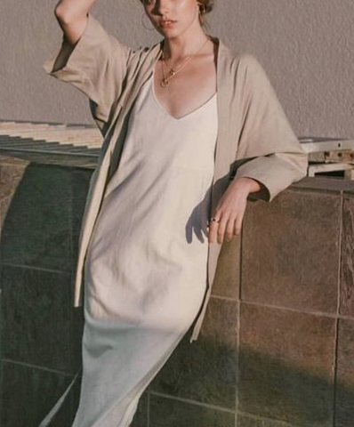 sweater under slip dress, slip dress for fall, slip dress layered with sweater