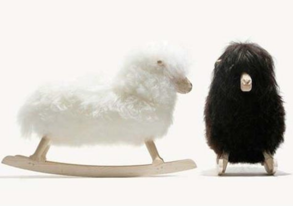 These are also really cute for a nursery, this one is by Danish designer Povl Kje and you can get it at  baby geared