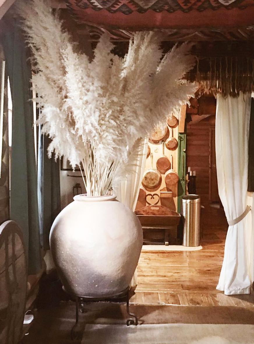 @themodhemian house tour: John Rixey Moore, Masculine bohemian cabin