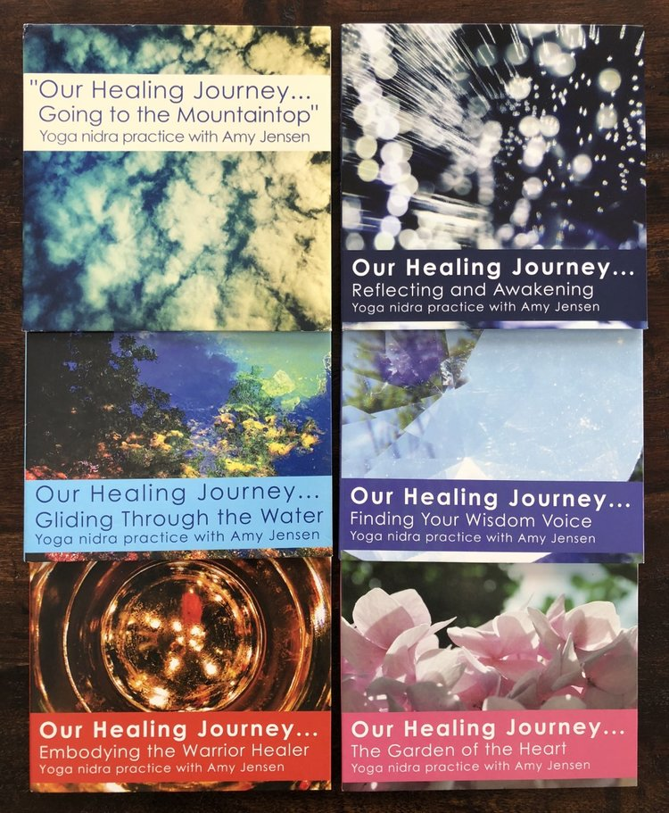 Yoga Nidra CDs Amy Jensen Healing Arts LLC