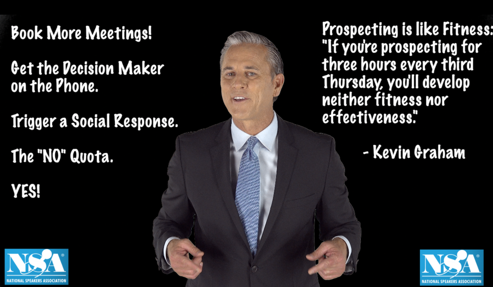 """Prospecting is like fitness..."""