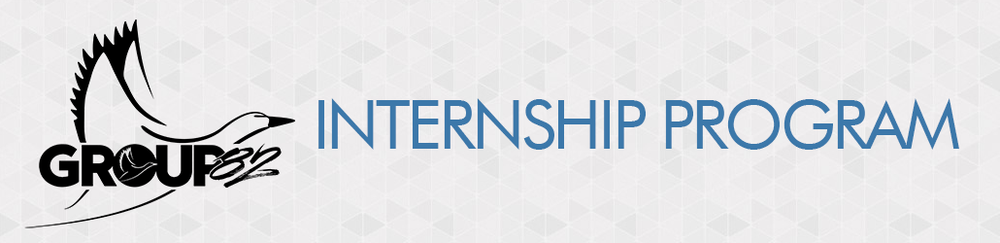 Group 82 Internship Program Header Banner