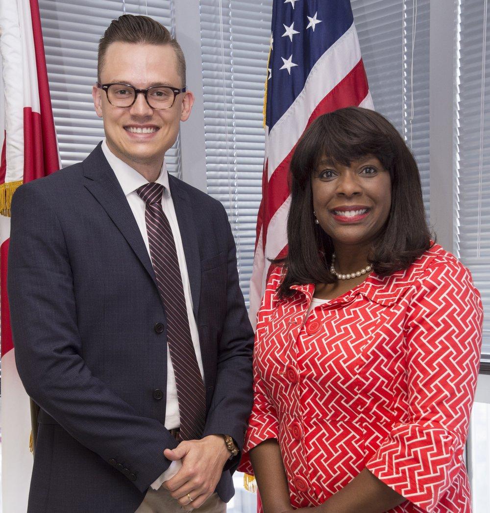 Public Service with U.S. Congresswoman Terri A. Sewell