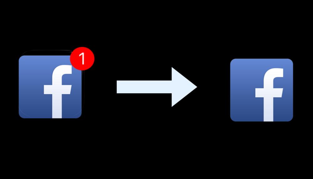 Bara notifikationer från personer - Slå av alla typer av notifikationer som inte kommer direkt från en person som vill dig något. Att din bekants bekant har gillat något på Facebook är inte värt en liten siffra vid app-ikonen. Att någon skriver direkt till dig via WhatsApp vill du däremot förmodligen inte missa.