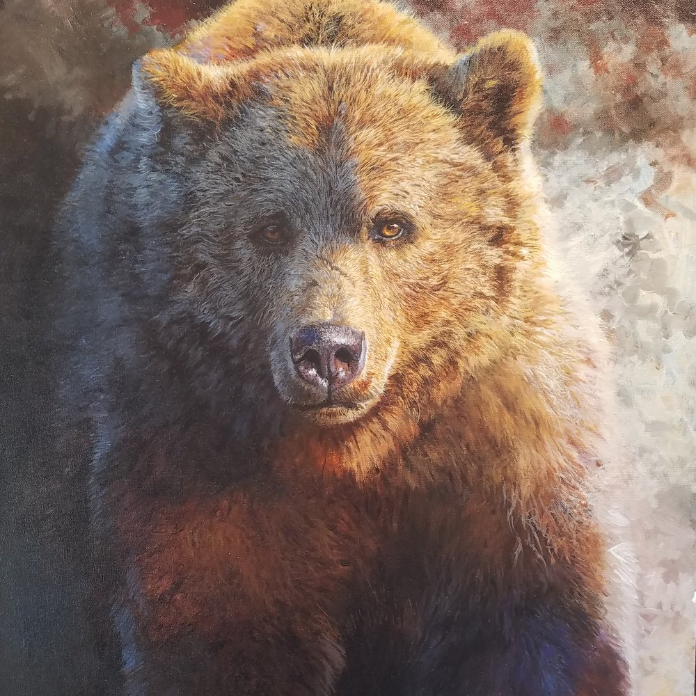 Wildlife Encounters Captured on Canvas -