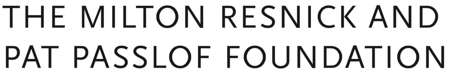 The Milton Resnick and Pat Passlof Foundation