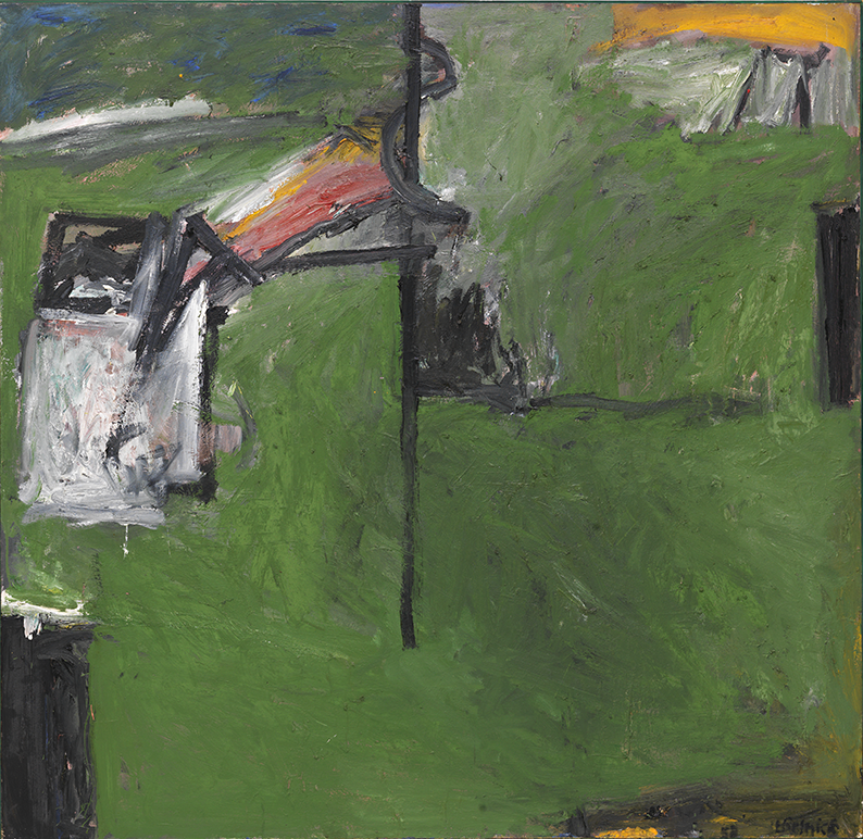 Milton Resnick  Sweet Potato , 1958 Oil on canvas 68 x 70 inches