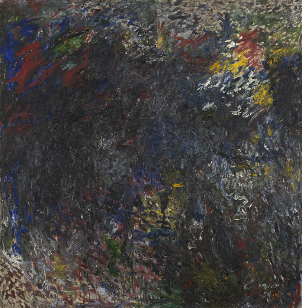 Milton Resnick  AS 4B , 1959 Oil on canvas 82 x 80 inches