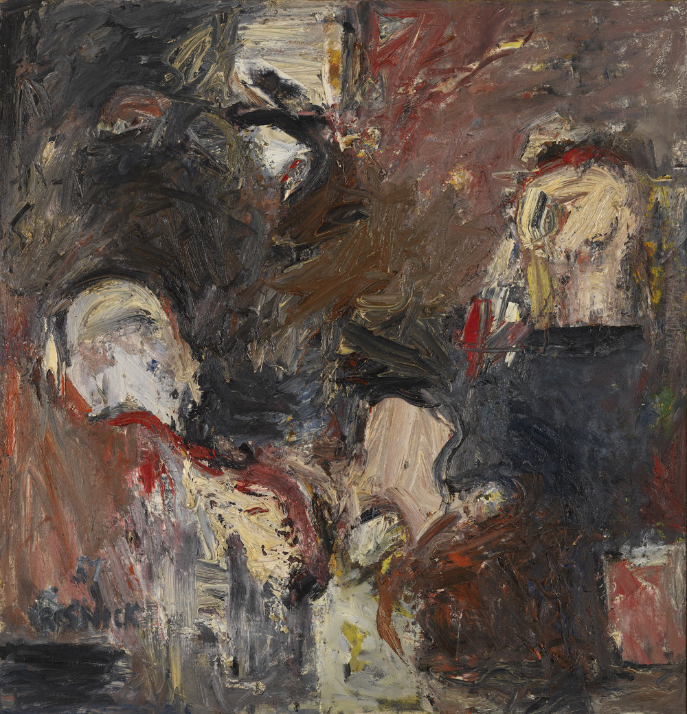 Milton Resnick  Freehold , 1957 Oil on canvas 62 x 60 inches