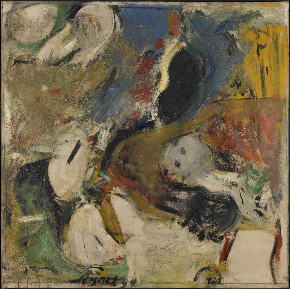Milton Resnick  Untitled , 1954 Oil on canvas 36 x 36 inches