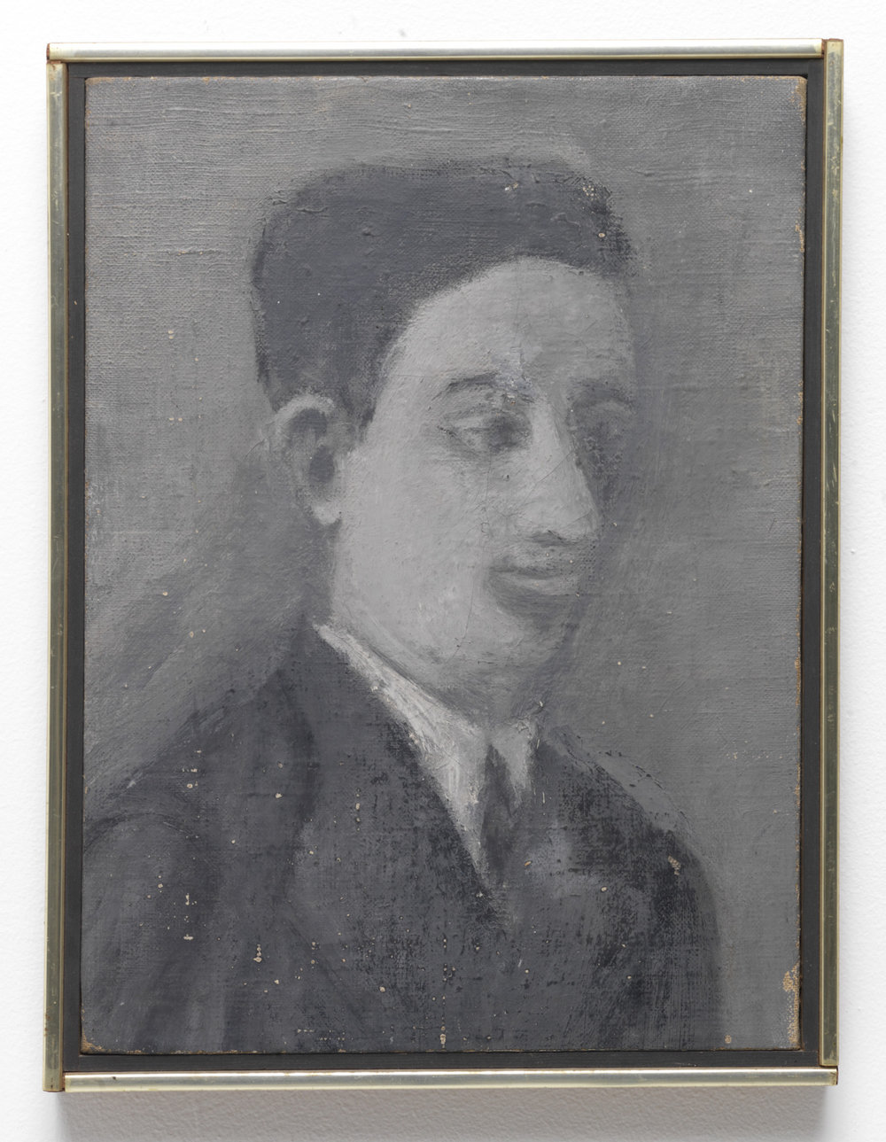 Milton Resnick  Nat , c. 1937 Oil on canvas 15 x 11 inches