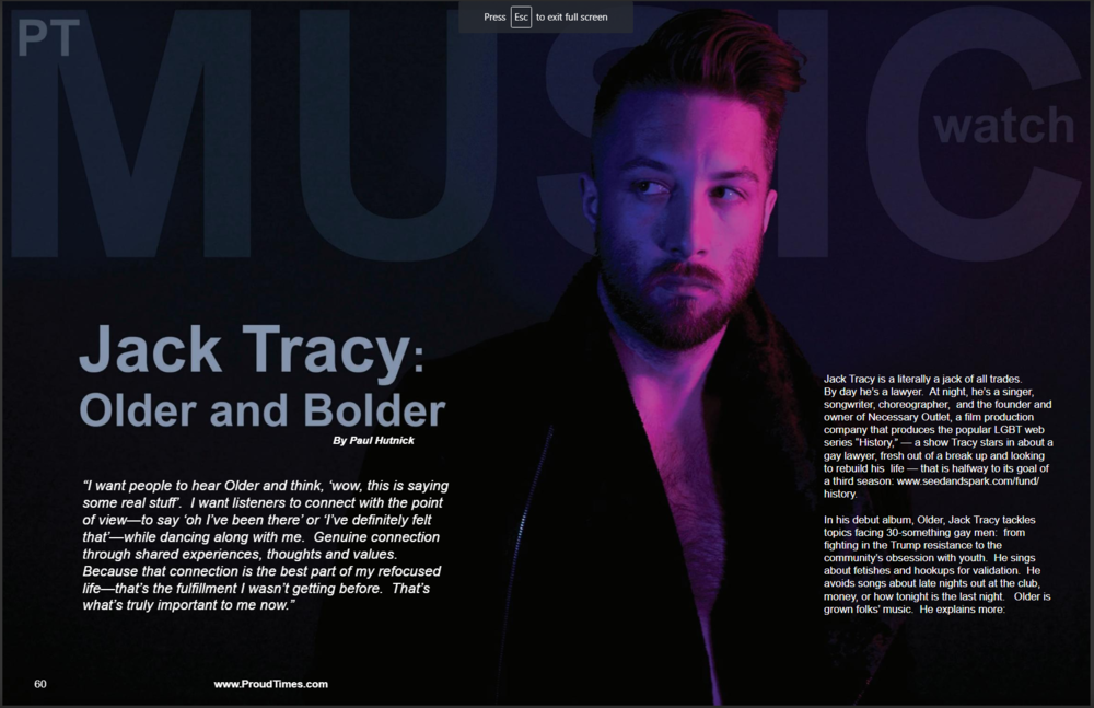 Proud Times Magazine - July 2018 (part 1)