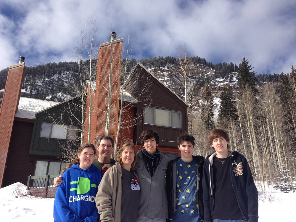 The Moody family celebrates a turning point in healing by taking a trip to Colorado in 2014
