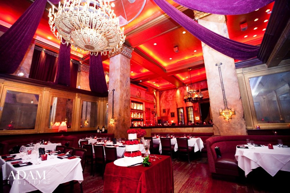 red square russian restaurant wedding reception