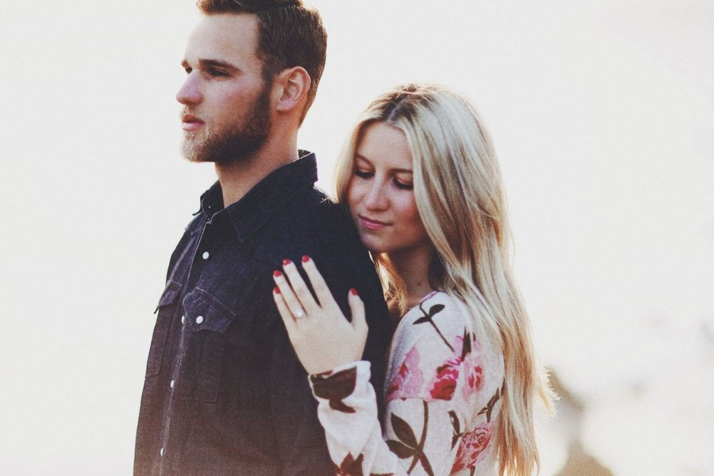 Engagement photo wedding ring