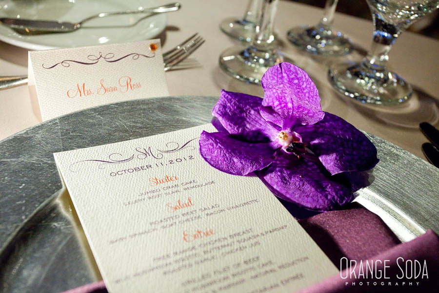 place setting menu by paper and home