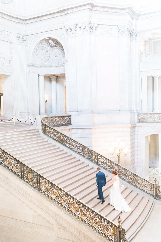 san francisco city hall stairs wedding las vegas wedding planner