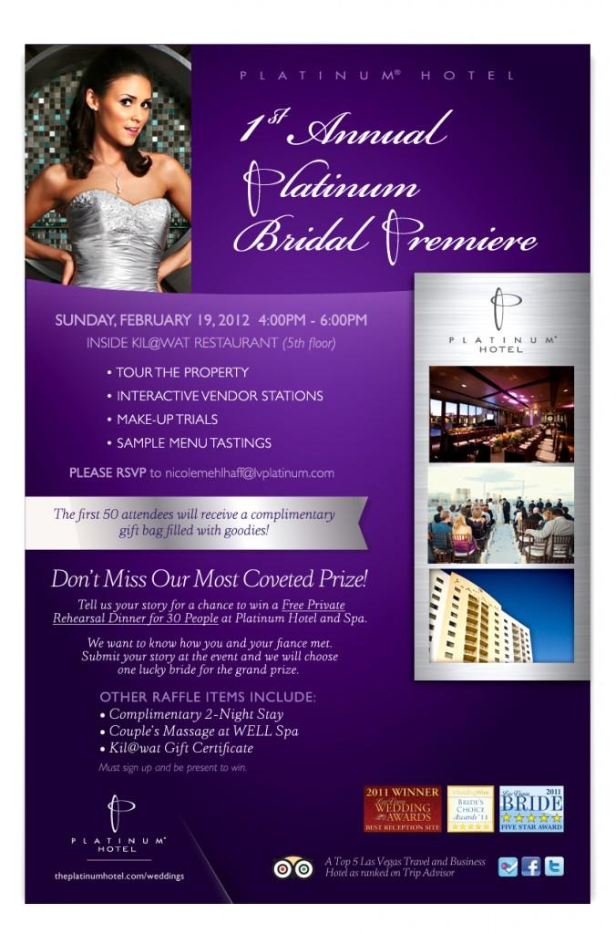 Platinum Hotel Bridal Premiere