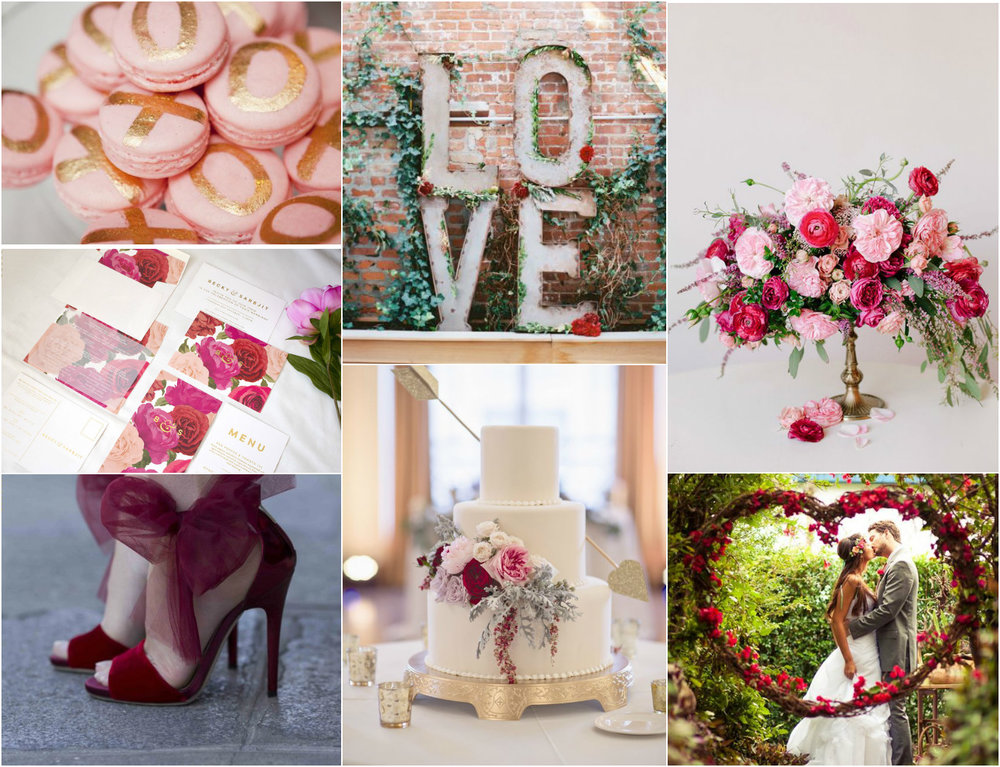 las vegas wedding planner, green orchid events, wedding planner, vegas wedding planner, valentine's day, pink wedding, red wedding, white wedding, wedding floral, macarons, wedding cake