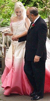 gwen-stefani-ombre-pink-wedding-dress