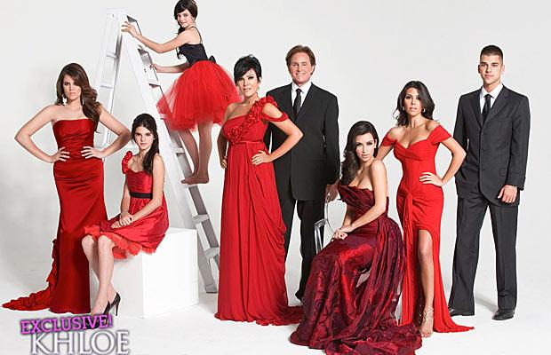 kardashian holiday card 2008