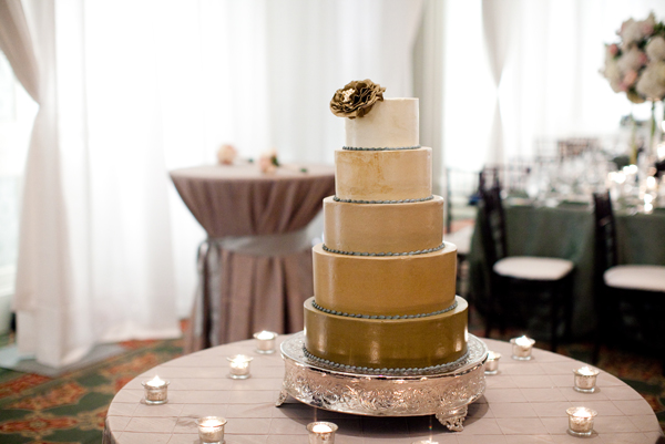 ombre-Tiered-Wedding-Cake