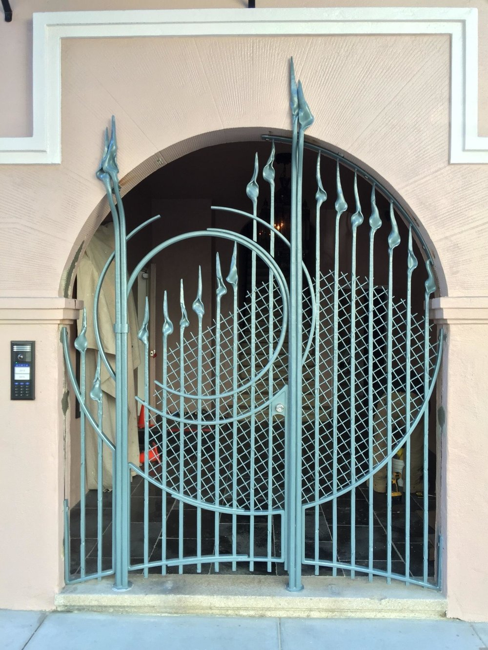 Gate Design by Jefferson Mack Metal