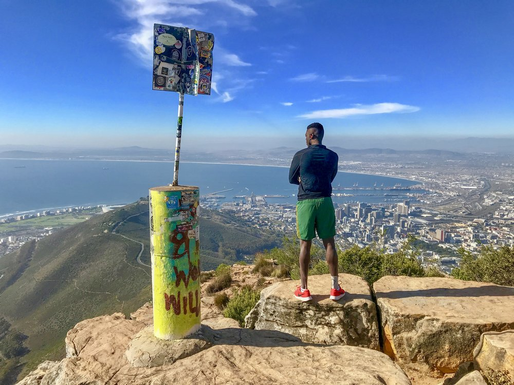 No climb, no view!  Hike Completed, 20 April 2018.