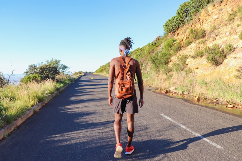 Along Tafelberg Road to Woodstock Cave Image by  Ashley Smith