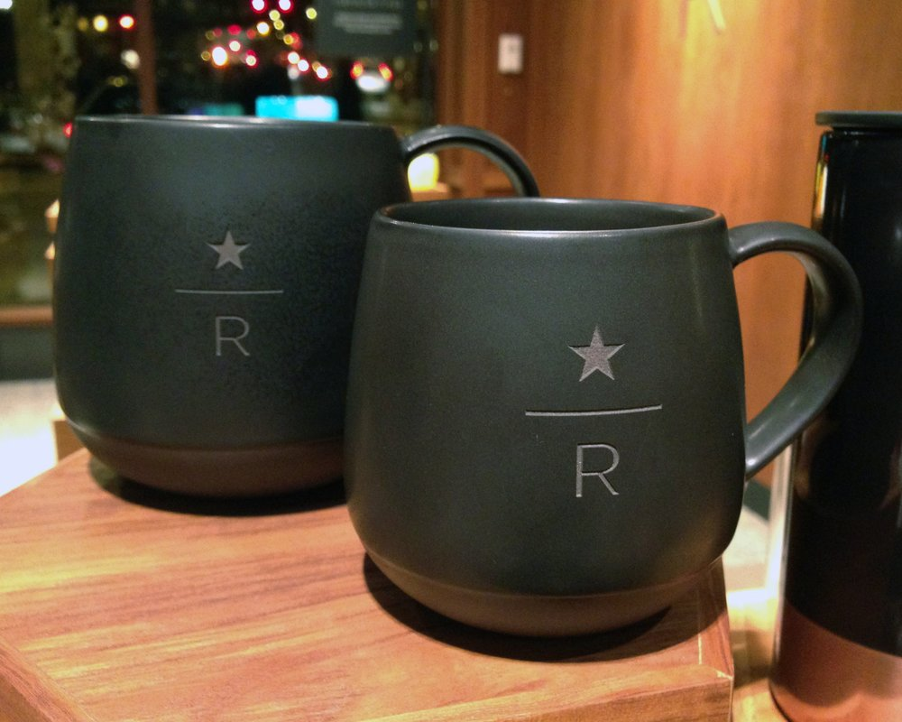 Reserve Roastery For-Here Mugs (4 sizes – now also available for purchase)
