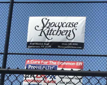showcase kitchens sponsorship little league