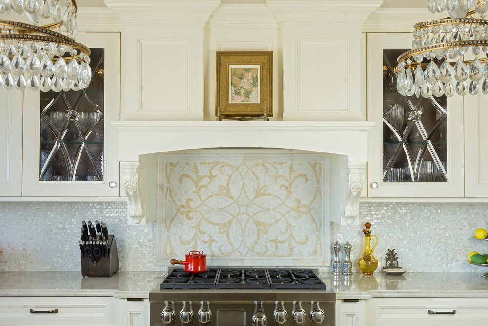 Kitchen Back Splashes | Kitchen Backsplashes Stone Tile Long Island Custom Kitchen