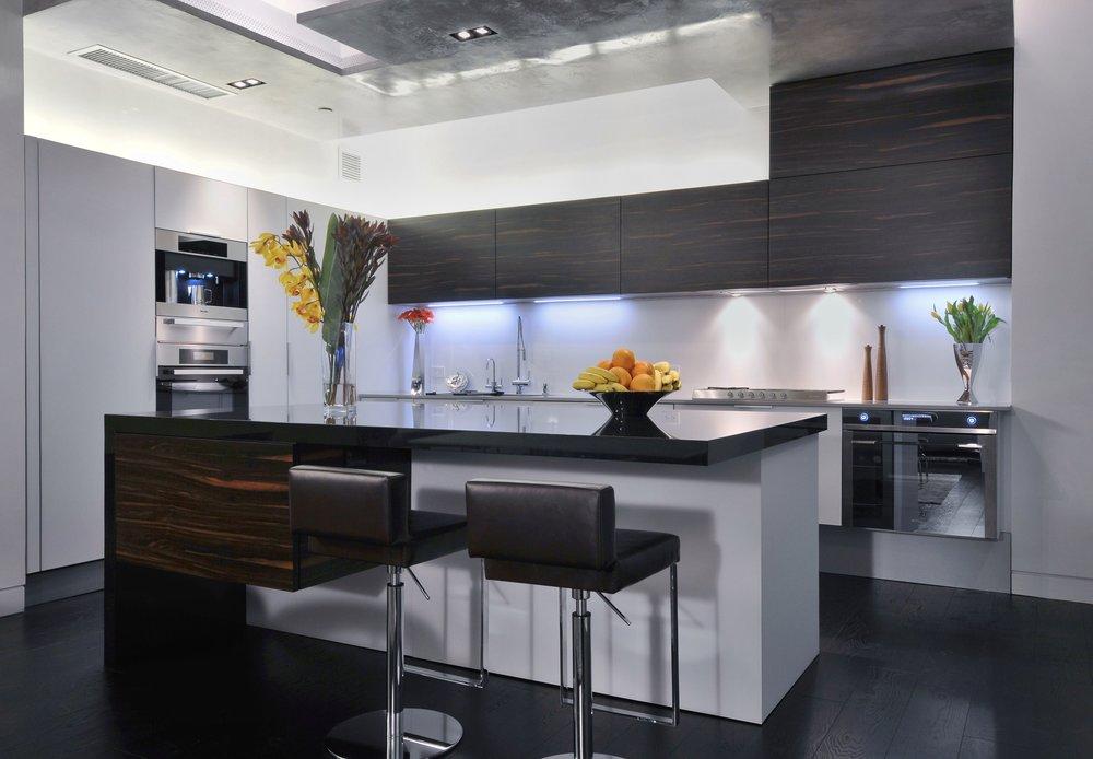 contemporary chic kitchen