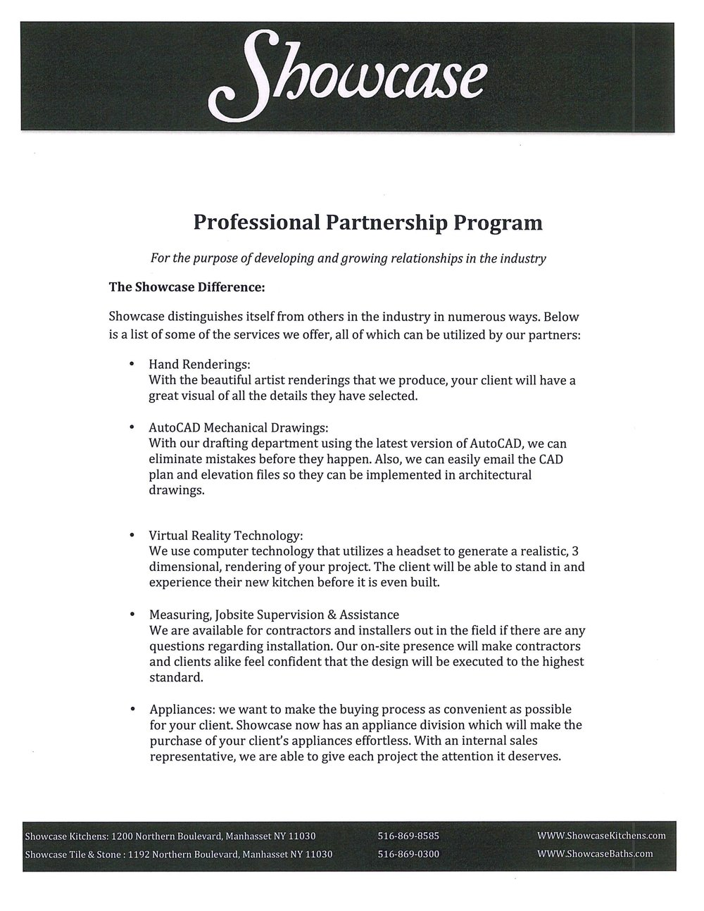 Partner Program Information page 3