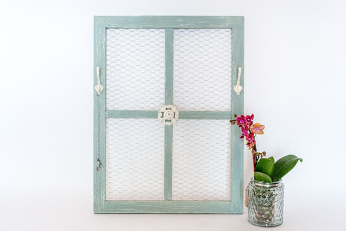 Country Shabby Chic Window Frame — Designs & Events by Noon