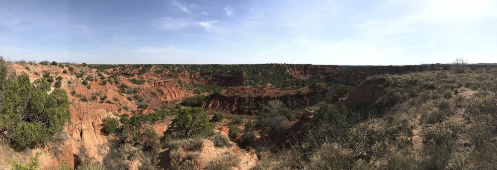 Palo Duro Canyon, Caprock Canyon State Park, Texas