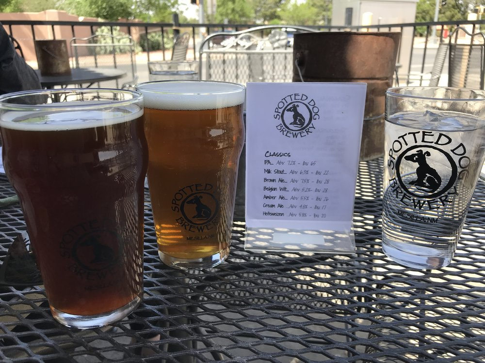 Spotted Dog Brewery, Las Cruces NM