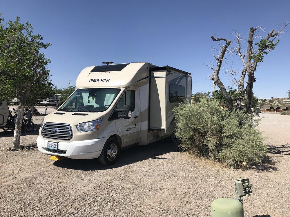 Las Cruces KOA Campground, New Mexico