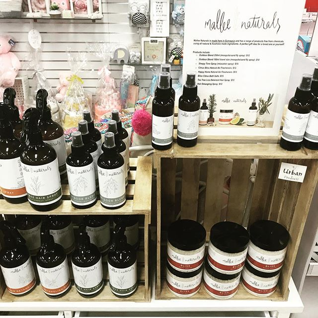 Irymple Newsagency is fully stocked with a range of beautiful Mallee Naturals products. My other wonderful local stockists are @tilleysfurniture @cloveorganics @sollifeyogaandorganicshop and Sunraysia Produce.