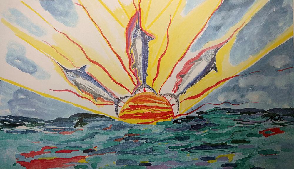 Marlin Sunset