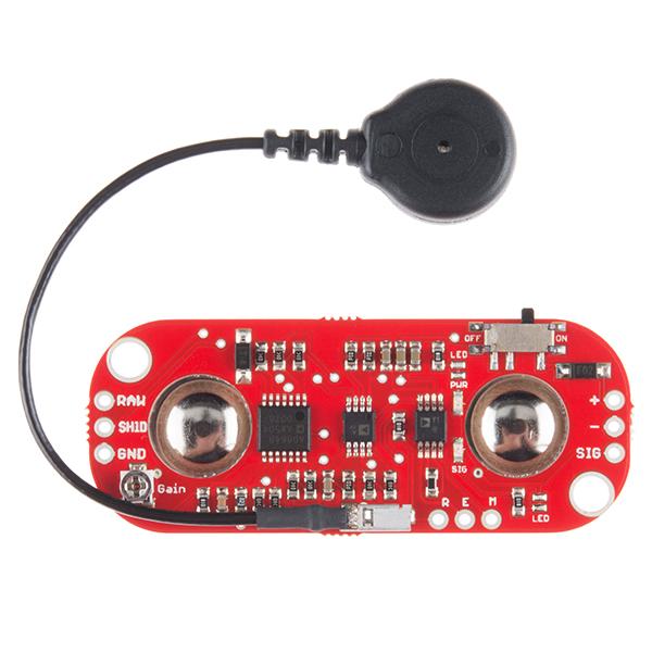 Muscle sensor from MyoWare