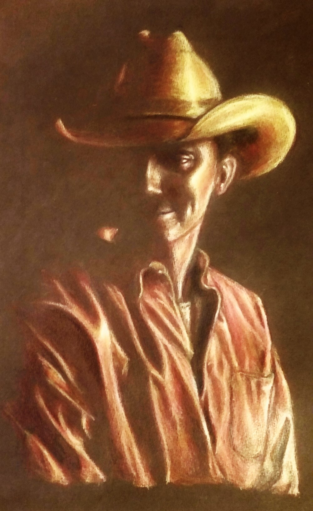 Portrait of a cowboy