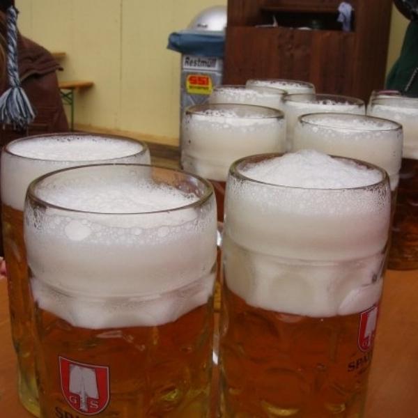 Just a few Oktoberfest litres…