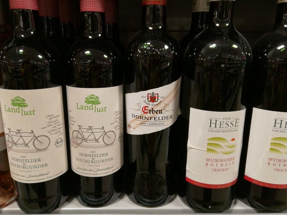 German red wine