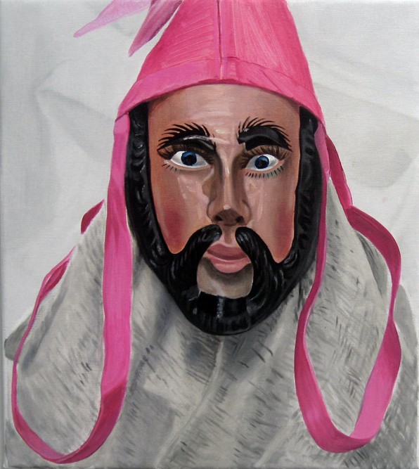 Jacqui Stockdale  Oneness of Man#3, 2011  Oil on linen 46 x 40cm